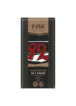 CHOCOLATE NEGRO 92% 80GR BIO - VIVANI - 4044889002249
