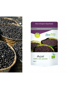 ACAI 100% RAW POWDER 200GR BIO - BIOTONA - 5412360007417