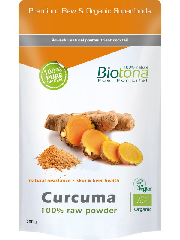 CURCUMA RAW POWER 200GR BIO