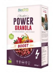 GRANOLA POWER BOOST 250GR BIO - BIOTONA - 5412360017928