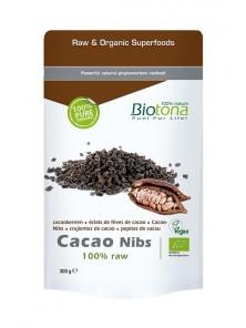 NIBS CACAO 300GR BIO - BIOTONA - 5412360007448