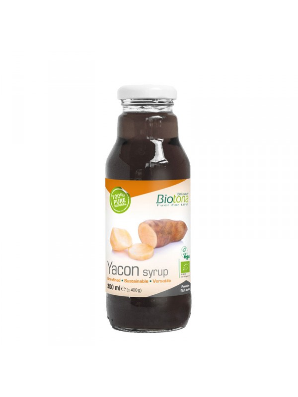 SIROPE YACON 300ML BIO