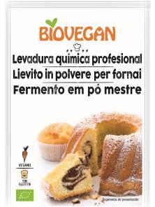 LEVADURA QUIMICA PASTELERIA VEGANA SIN GLUTEN 3X17GR - BIOVEGAN - 4005394286326