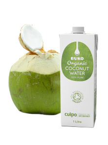AGUA DE COCO 1L BIO - BUKO - 5060401780029