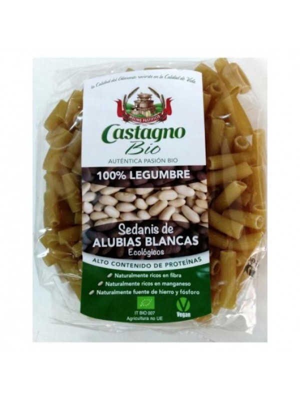 SEDANIS 100% ALUBIAS BLANCAS 250GR BIO - CASTAGNO