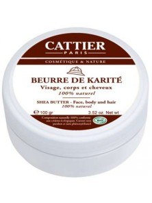 MANTECA DE KARITE 100GR BIO - CATTIER PARIS - 3283950917308