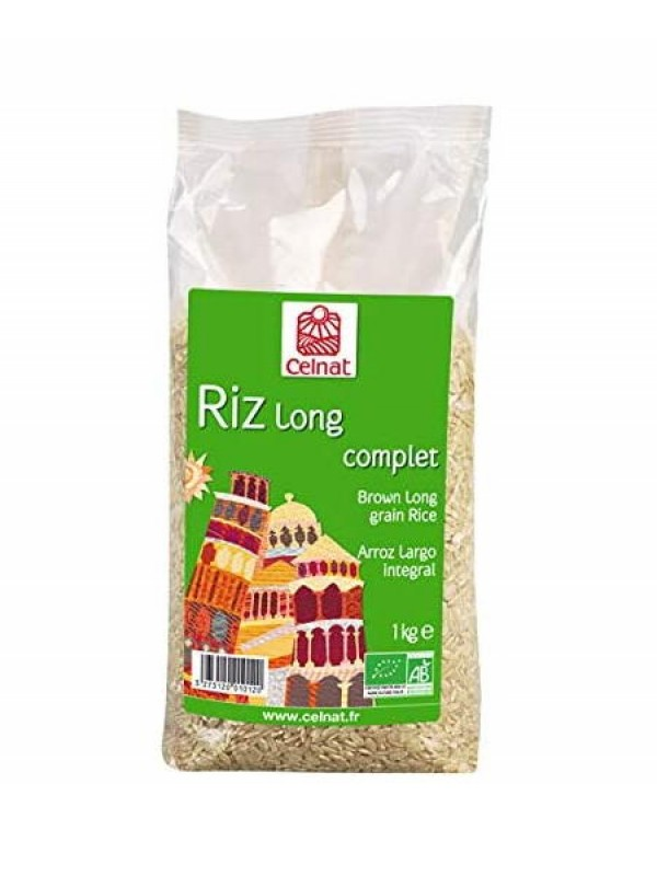 ARROZ LARGO  INTEGRAL 1KG BIO