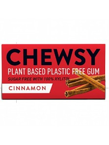 CHICLE NATURAL SABOR CANELA 10 CHICLES - CHEWSY ALL NATURAL GUM - 5060583260067