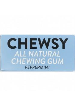 CHICLE NATURAL SABOR MENTA 10 CHICLES - CHEWSY ALL NATURAL GUM - 5060583260005