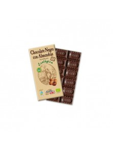 CHOCOLATE NEGRO 73% CACO CON ALMENDRA 150GR BIO - CHOCOLATE SOLE - 8411066003089