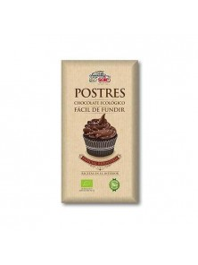 POSTRES CHOCOLATE ECOLOGICO PARA FUNDIR 200GR BIO - CHOCOLATES SOLE - 8411066002976