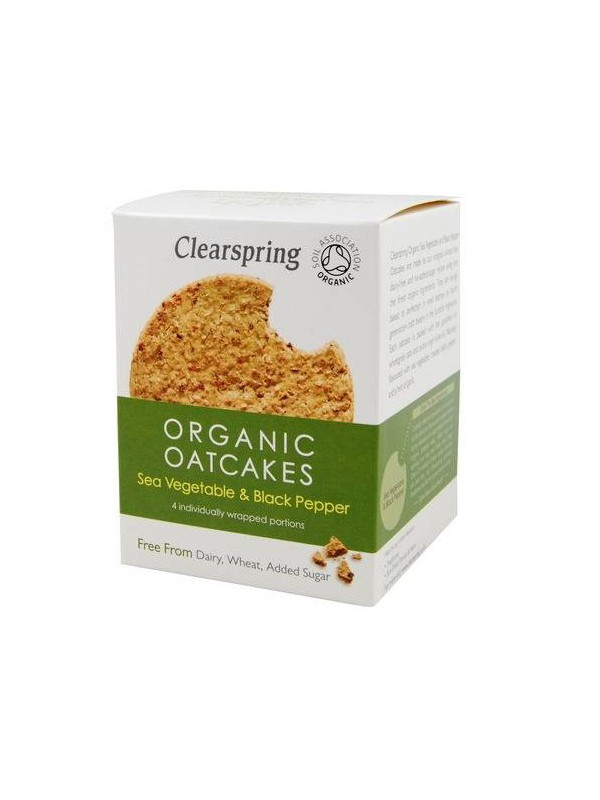 GALLETA DE AVENA Y ALGAS 200GR BIO - CLEARSPRING - 5021554000600