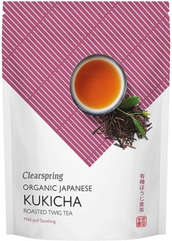 TE KUKICHA TOSTADO JAPONES 90GR BIO - CLEARSPRING - 5021554000891