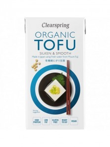 TOFU SEDOSO SILKEN JAPONÉS 300GR BIO - CLEARSPRING - 5021554987710