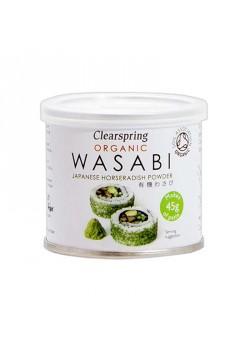 WASABI EN POLVO  25GR BIO - CLEARSPRING - 5021554988069