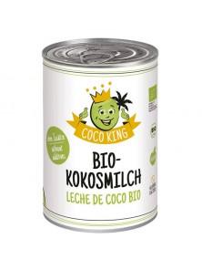 LECHE DE COCO 400ML BIO - COCO KING - 4260457580012