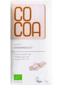 TABLETA CHOCOLATE COCO & CANELA 50GR BIO - COCOA - 5902565210649