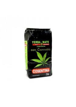 YERBA MATE CON CANNABIS 1KG - COSENTINA - 7730950672523