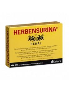 HERBENSURINA 30 COMPRIMIDOS - DEITERS - 8430022001617
