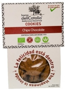 COOKIES CHIPS CHOCOLATE 135GR ECO - DELICATALIA - 8410575600598