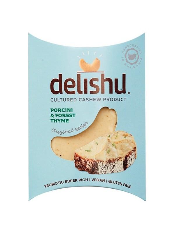 DELISHU CON SETAS SILVESTRES Y TOMILLO 100GR BIO - DELISHU - 3800233680980