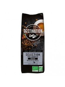 CAFE EN GRANO SELECCION 100% ARABICA 250GR BIO - DESTINATION - 3700112011051