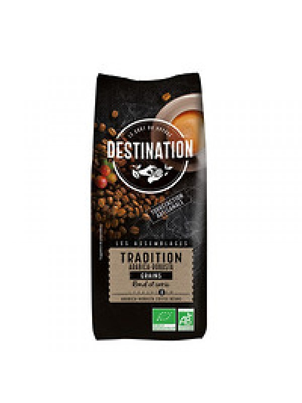 CAFE EN GRANO TRADICIONAL  BIO 1KG - DESTINATION