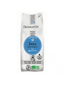 CAFE MOLIDO DESCAFEINADO SUAVE 100% ARABICA 250GR BIO - DESTINATION - 3700112016414