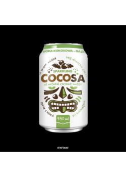 AGUA DE COCO CON GAS 0.33ML - COCOSA - 5906395147991