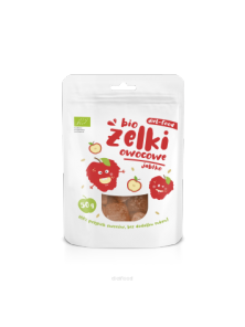 BIO FRUIT JELLY APPLE 50GR BIO - DIET FOOD - 590635147847