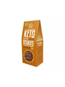 BIO KETO COOKIES CON CANELA 80G - DIET FOOD - 5906660508540