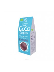BIO RAW COOKIES COCO & GROSELLA NEGRA 80GR - DIET FOOD - 5906395147908