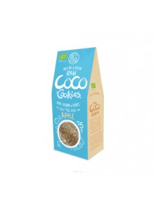 BIO RAW COOKIES COCO & MANZANA 80GR - DIET FOOD - 5906395147915