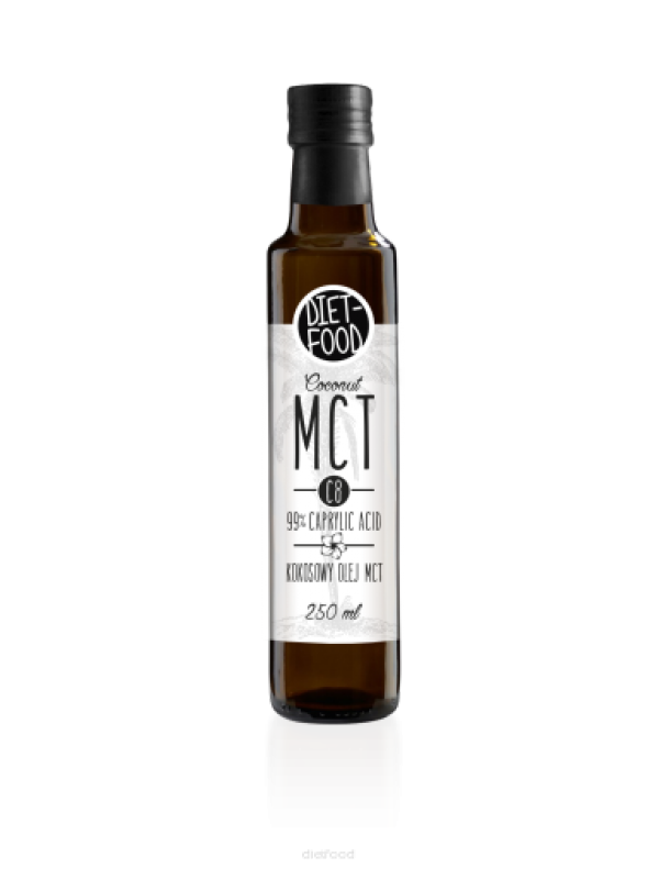 MCT OIL C8 'ÁCIDO CAPRÍLICO' 250ML - DIET FOOD