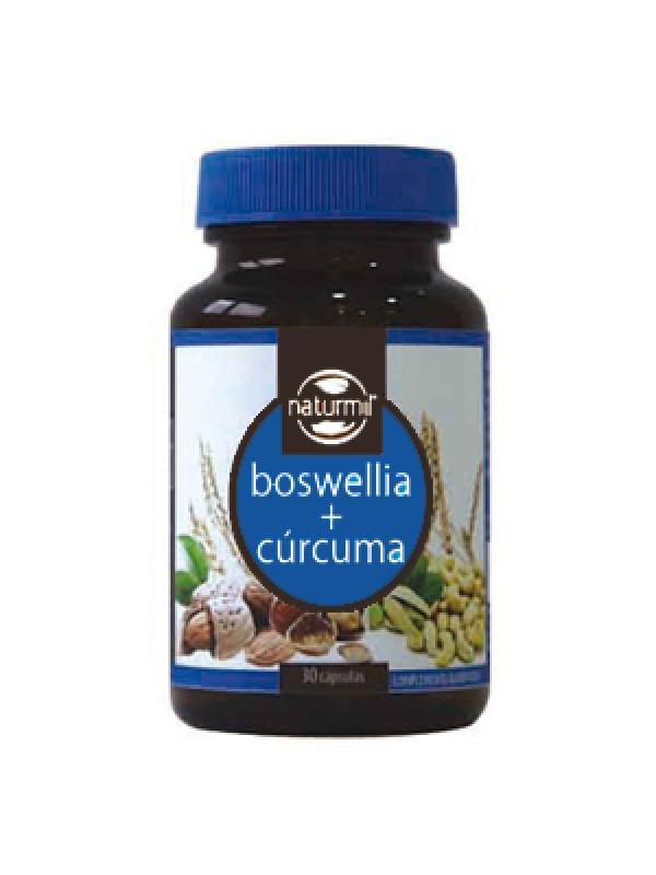 BOSWELLIA + CURCUMINA 90 COMPRIMIDOS - NATURMIL - 5605481408281