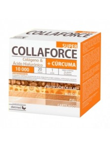 COLLAFORCE SUPER + CURCUMA 20 SOBRES - DIETMED - 5605481112492