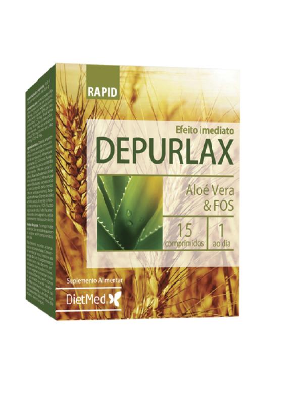 DEPURLAX RAPID 30 COMPRIMIDOS - DIETMED - 5605481108617