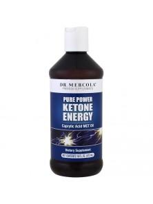 "**MCT OIL ""PURE KETONE ENERGY"" 473ML - DR MERCOLA - 813006018142"