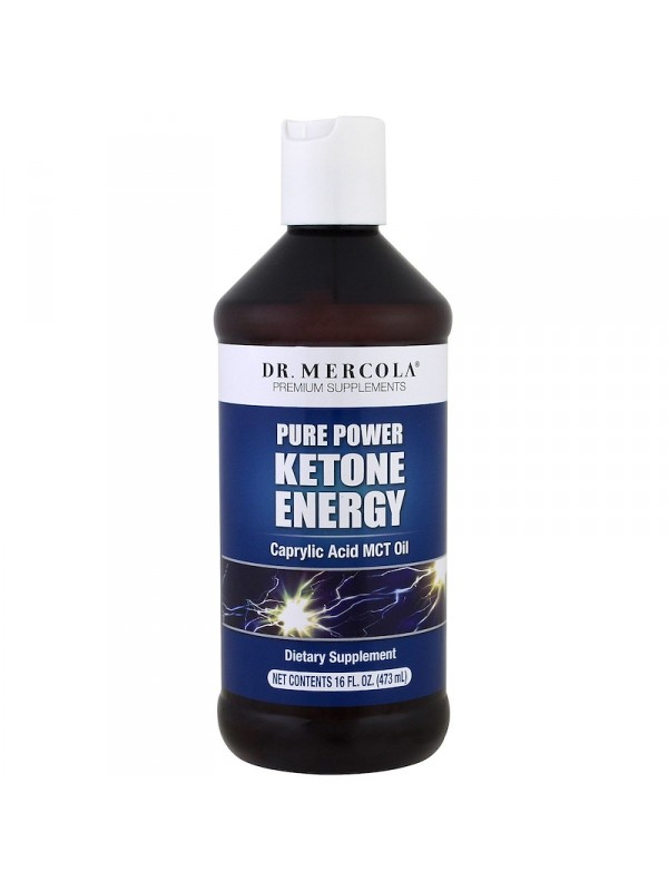 "ACEITE MCT ""PURE KETONE ENERGY"" 473ML - DR MERCOLA - 813006018142"