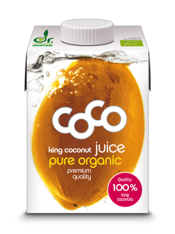 AGUA DE COCO KING 100% 500ML BIO - DR. ANTONIO MARTINS - 4260183212072