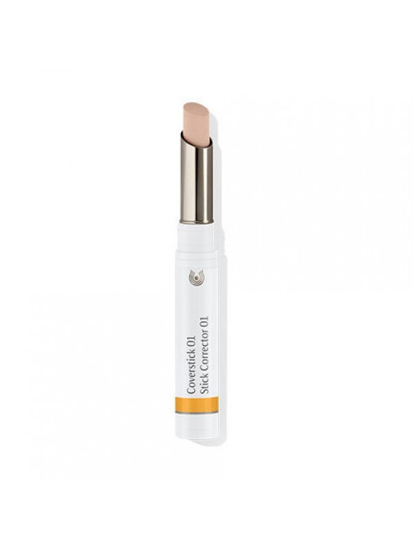 PURE CARE COVER STICK 01 NATURAL - DR. HAUSCHKA - 4020829006591