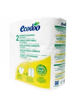 PAPEL DE COCINA RECICLADO 2 ROLLOS - ECODOO - 3380380050169