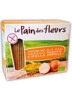 PAN DE FLORES CON CEBOLLA SIN GLUTEN BIO 150GR - LE PAIN DES FLEURS - 3380380074080