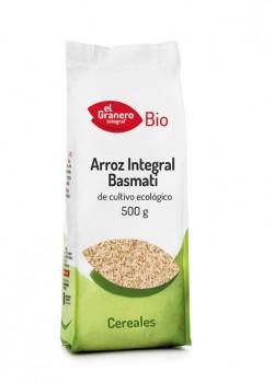 ARROZ INTEGRAL BASMATI 500GR BIO - EL GRANERO INTEGRAL - 8422584018479