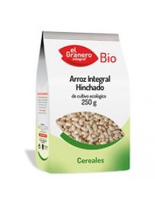ARROZ INTEGRAL HINCHADO BIO 250GR BIO - EL GRANERO INTEGRAL - 8422584039375