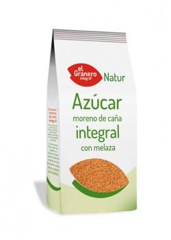AZUCAR MORENO DE CAÑA INTEGRAL CON MELAZA 1KG - EL GRANERO INTEGRAL - 8422584010497