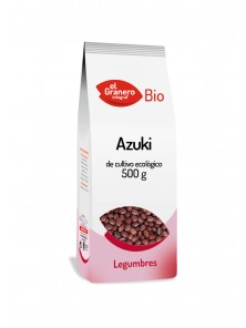 AZUKI BIOLOGICO 500GR - EL GRANERO INTEGRAL - 8422584018332