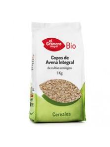 COPOS DE AVENA INTEGRAL 1KG BIO - EL GRANERO INTEGRAL - 8422584030396