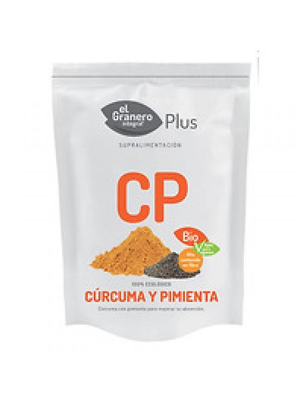 CURCUMA Y PIMIENTA 200GR BIO