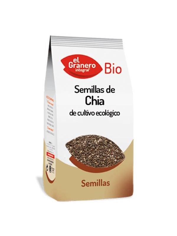 SEMILLAS DE CHIA BIO 250GR - EL GRANERO INTEGRAL - 8422584048711